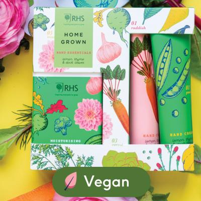 Home Grown Vegan Hand Essentials Gift Set