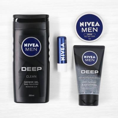 Nivea Men Deep Wash Gift Set