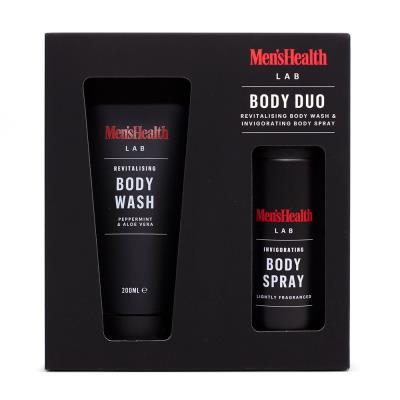 Men's Health Magazine Body Duo Gift Set