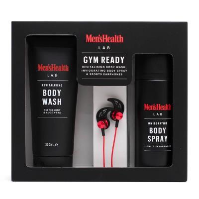 Men's Health Gym Ready Gift Set