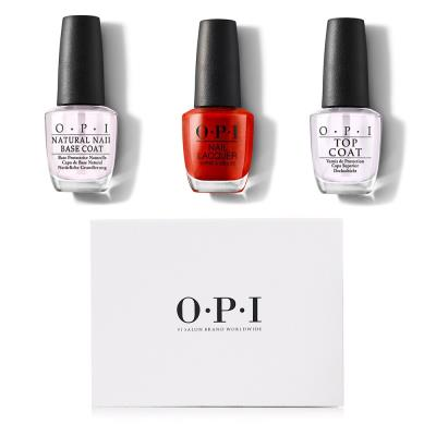 OPI Gimmie A Lido Kiss Full Size Trio Gift Set