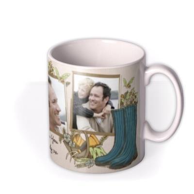 Plant and Gardening Photo Upload Mug