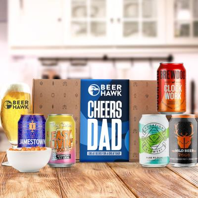 Beer Hawk Cheers Dad Craft Beer Selection Box