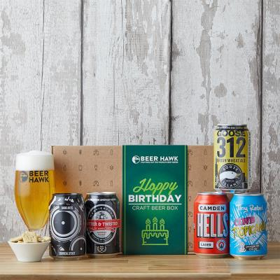 Beer Hawk Happy Birthday Craft Beer Selection Box