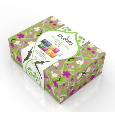 Pukka Tea Selection Box Filled with 45 Herbal Teas