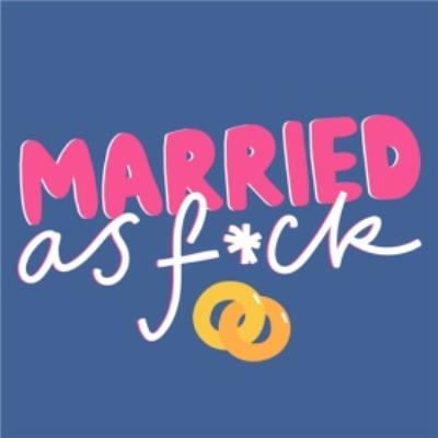 Married AF Wedding Card