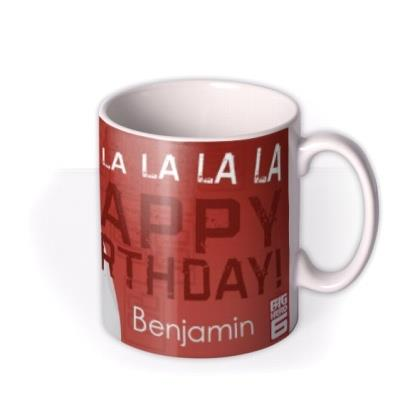 Big Hero 6 Baymax Birthday Personalised Mug