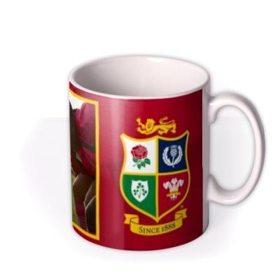 The British And Irish Lions Photo Upload Mug