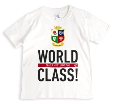The British And Irish Lions World Class T-Shirt