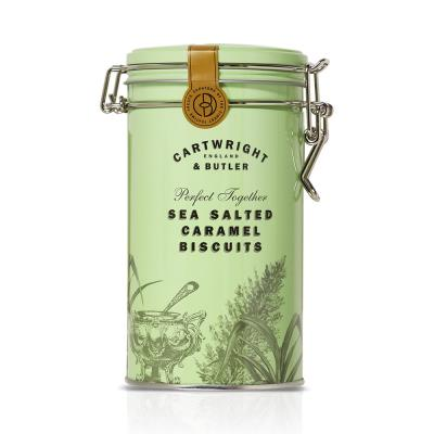 Cartwright & Butler Salted Caramel Biscuit Tin