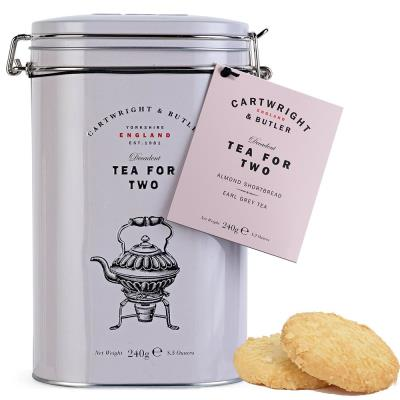 Cartwright and Butler Tea for Two with Almond Shortbread (240g)