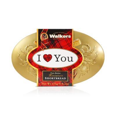 Walkers 'I Love  You' Miniatures Tin (175g)