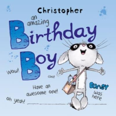 Boys Birthday Card - An Amazing Birthday Boy