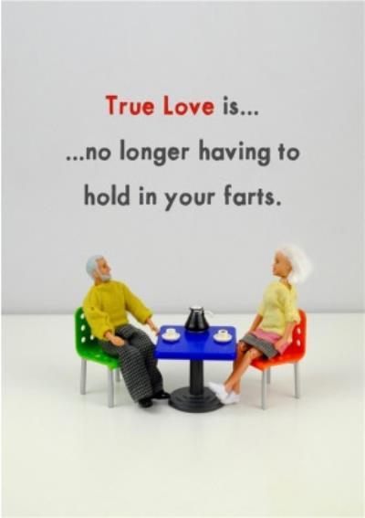Funny Dolls True Love Is No Longer Having To Card
