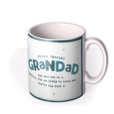 Boofle Photo upload Mug - Extra special Grandad