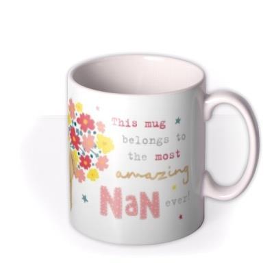 Cute Boofle Most Amazing Nan Ever Photo Upload Birthday Mug