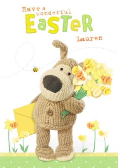 Boofle Have A Wonderful Easter Card