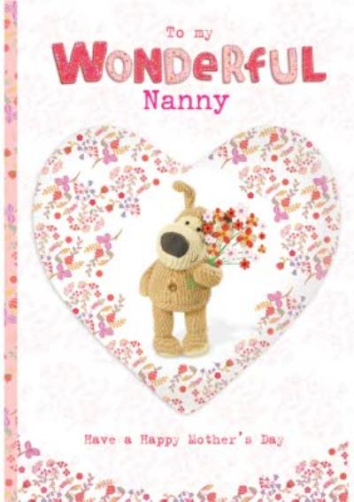 Boofle To My Wonderful Nanny Happy Mother's Day