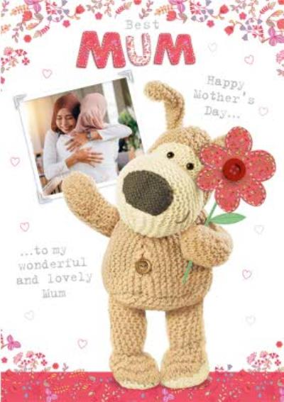 Boofle Best Mum Happy Mothers Day Card
