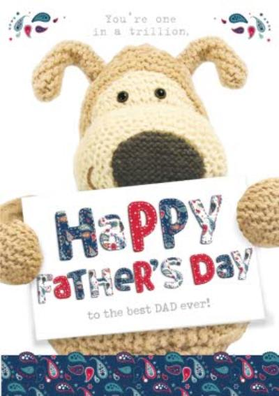 You Are One In A Trillion Happy Fathers Day Card