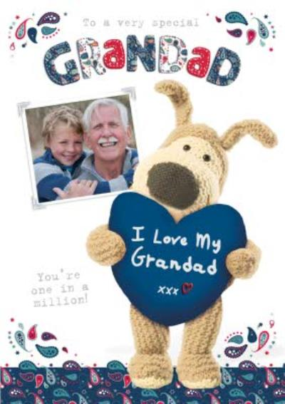 Boofle I Love My Grandad Card