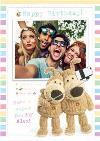 Photo Upload Happy Birthday Boofle Card