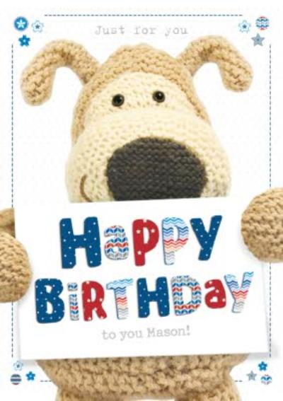 Boofle Personalised Birthday To You Card