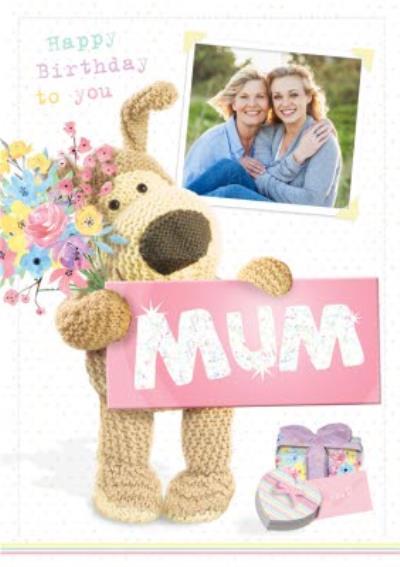 Boofle Happy Birthday To You Mum Photo Card