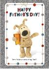 Puppy & Pint Happy Father's Day Card
