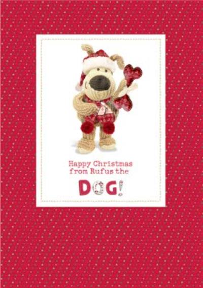 Boofle From The Dog Personalised Christmas Card
