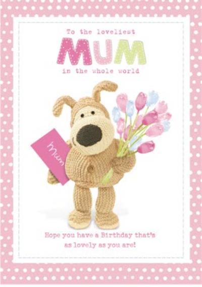 Boofle Birthday Card - Mum