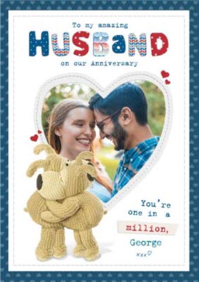 Anniversary Card - Photo Upload - Husband