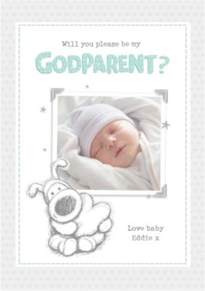 Will you please be my Godparent? Boofle Photo Upload Card