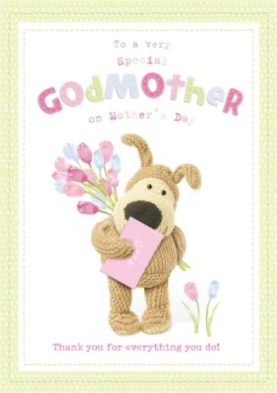 Boofle To A Special Godmother Mother's Day Card