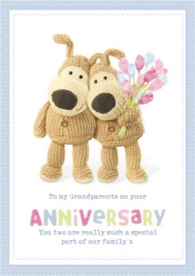 Boofle cute sentimental Grandparents Anniversary card