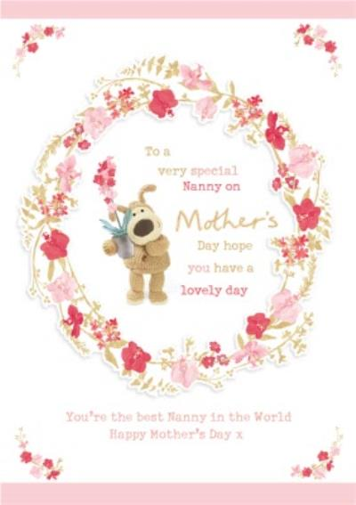 Cute Boofle Very Special Nanny Mother's Day Card