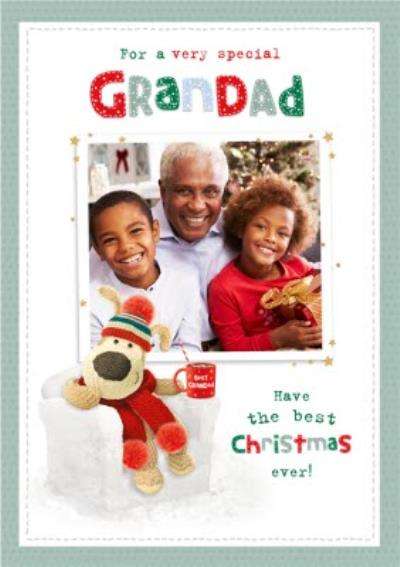 Boofle Very Special Grandad Christmas Card