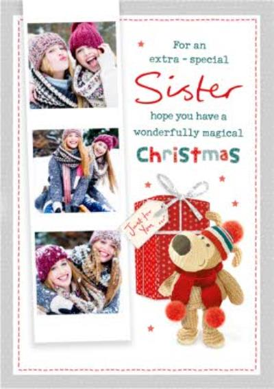 Boofle Extra Special Sister Photo Upload Card