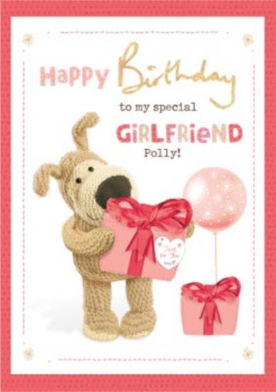 Boofle To my Special Girlfriend Birthday Card
