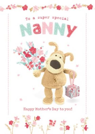 Boofle To A Super Special Nanny Mother's Day Card