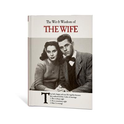 Wit and Wisdom of the Wife Book