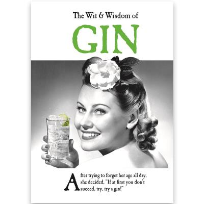 Wit and Wisdom of Gin Book