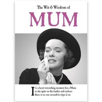 Wit and Wisdom of Mum Book