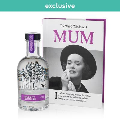Two Birds Gin And Mum Book Gift Set