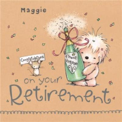 Retirement Congratulations Card