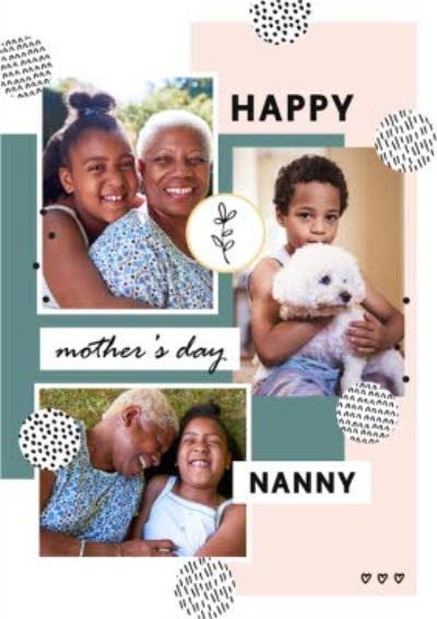 Photo Upload Mother's Day Card For Nanny