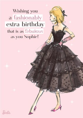 Barbie Doll Fashionably Extra Birthday Card As Faboulous You