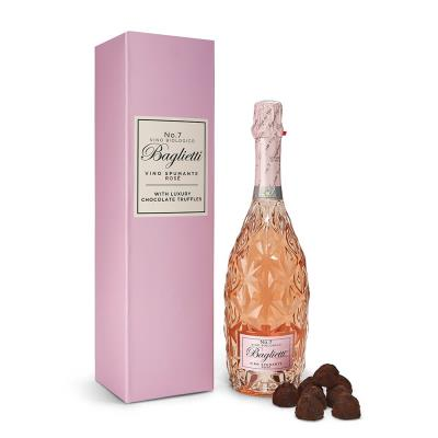 Baglietti Rosé Prosecco 75cl & Chocolate Truffle Gift Set