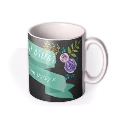 Mother's Day Ribbon Personalised Mug