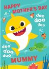 Baby Shark Song Mother's Day Card